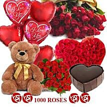 Crazy in Love: Send Flowers & Teddy Bears to Bengaluru