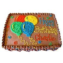 Creamy Balloons Cake: Cake Delivery in Baharampur
