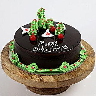Creamy Christmas Tree Cake: Christmas Cakes