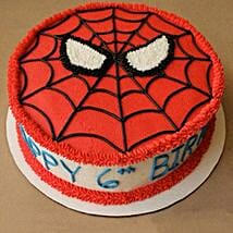 Creamy Spiderman Treat Cake: Cake Delivery in Thrippunithura