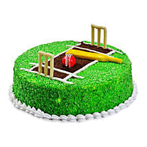 Cricket Pitch Cake: Send Designer Cakes to Jaipur