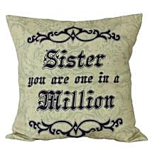 Cushion For Sister: Home Decor to Lucknow