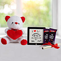Cute Love Gift: Send Gift Hampers
