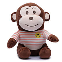 Cute Monkey Soft Toy: Soft toys for Friendship Day