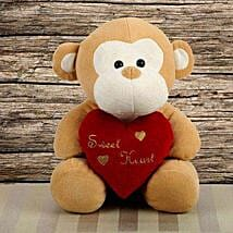 Cute Monkey Toy: Valentines Day Soft toys