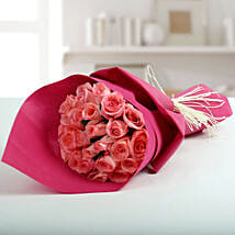 Cute Pink Roses Bunch: Roses