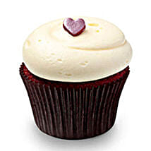 Cute Red Velvet Cupcakes: Send Anniversary Cakes to Noida