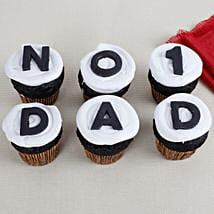 Daddys Day Special Chocolate Cupcakes: Fathers Day Cupcakes