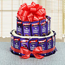 Dairy Milk Chocolate Collection: Cake Delivery in Chandel