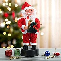Dancing Santa Claus: Send Gifts to Jehanabad