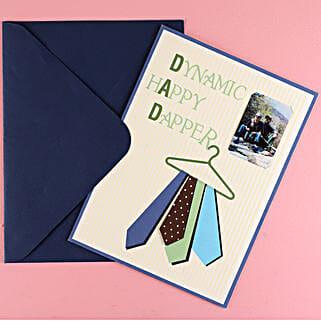 Big Dapper Dad Greeting Card: Buy Greeting Cards