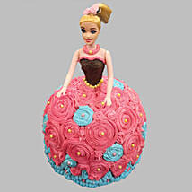 Dashing Barbie Cake: Barbie Cakes