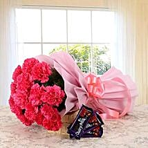 Dazzling Combo: Flowers & Chocolates for Friendship Day