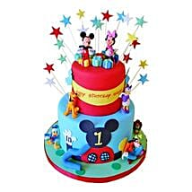 Dazzling Disney Cake: Cartoon Cakes