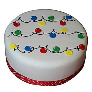 Decorative Christmas Fondant Cake: Christmas Gifts Your Family
