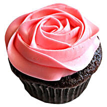 Delicious Rose Cupcakes: Send Anniversary Cakes to Noida