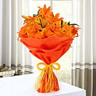 Descent Bouquet: Lilies