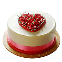 Desirable Rose Cake: Send Birthday Cakes for Friend