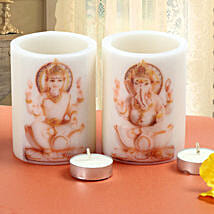 Divine Candles: Send Diwali Gifts for Bhaiya Bhabhi