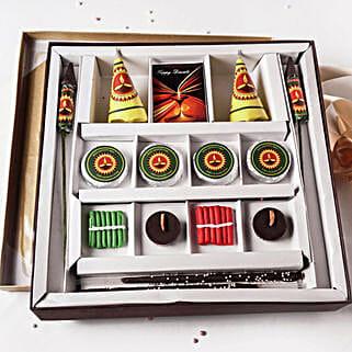 Diwali Crackers Chocolate Box 14 pcs: Diwali Gifts for Boyfriend
