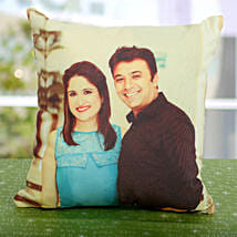 Double Sided Printed Personalized Cushion: Send Birthday Cushions