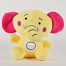 Elephant Soft Toy Yellow: Send Soft Toys for Kids