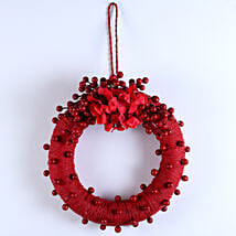 Embellished Christmas Wreath: Send Christmas Gifts to Family