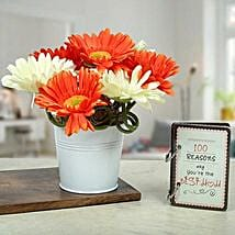 Enticed With Love: Artificial Flowers