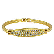 Estelle Gold Plated Shiny Bracelet: Jewellery Gifts