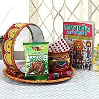 Ethnic Karwa Chauth: Karwa Chauth Gifts for Bahu