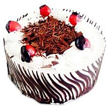 Exotic Blackforest Cake: Send Birthday Cakes to Agra