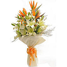 Exotic Bouquet: Anniversary Flowers for Her