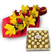 Exotic Hamper: Lilies for Him