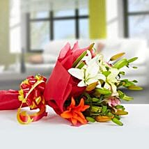 Exotic Mix: Independence Day Flowers