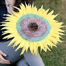 Exotic Sunflower: Handicraft Gifts for Mothers Day