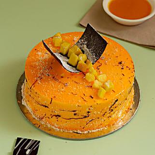 Exquisite Mango Cake: Mango Cakes to Kanpur