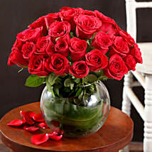 Extravagant 40 Red Roses Arrangement: Mothers Day Gifts Bhubaneshwar