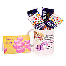 Fabulous Mom Mug: Send Chocolates to Lucknow
