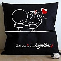 Falling In Love Cushion: Send Home Decor to Bengaluru