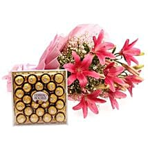 Falling In Love: Send Flowers & Chocolates to Faridabad