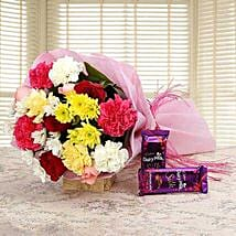 Fascinated Bouquet: Flowers delivery in Vapi