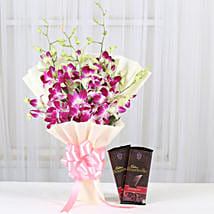 Fascinating Choco Combo: Flowers & Chocolates Pune