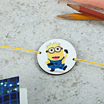 Favorite Minion Rakhi: Send Rakhi to Mansa