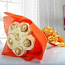 Ferrero Rocher Bouquet: Gifts for Chocolate Day