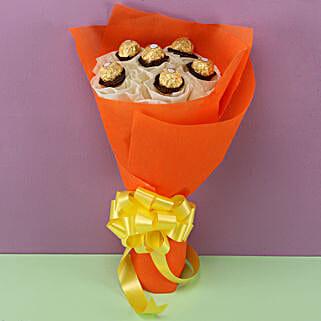 Ferrero Rocher Bouquet: Mothers Day Chocolate Bouquet