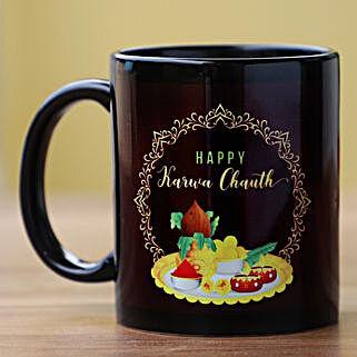Festive Feel Karwa Chauth Mug: Karva Chauth Gifts