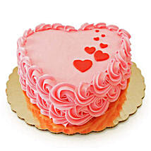 Floating Hearts Cake: Send Valentines Day Gifts to Kota