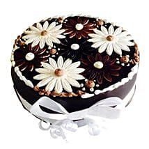 Floral Cake: Romantic Chocolate Cakes
