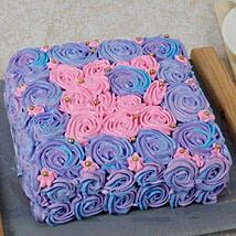 Floral Touch Mothers Day Cake: Mother's Day Designer Cakes