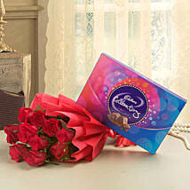 Flowery Celebrations: Send Flowers & Chocolates for Wife